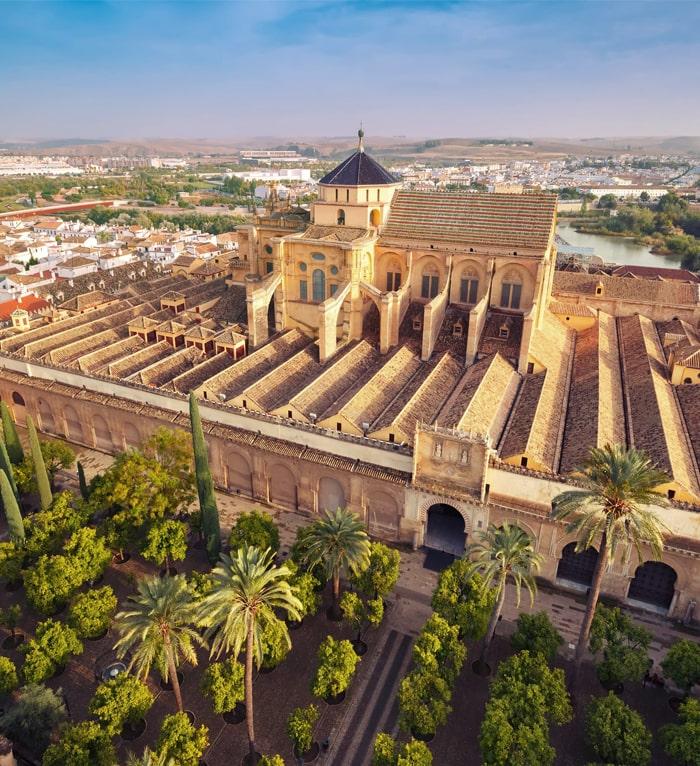 Mezquita de Córdoba desde arriba