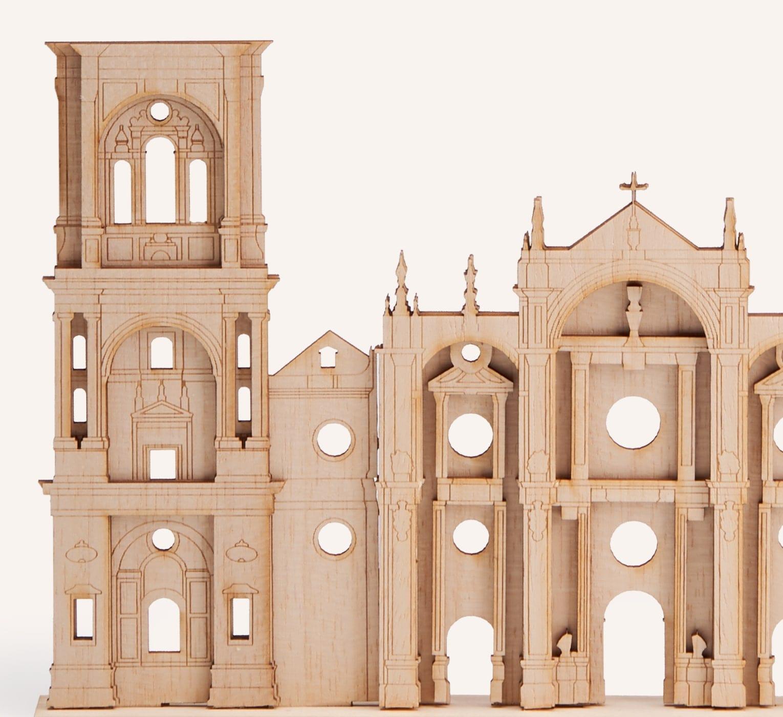 Perfil Catedral Granada detalle