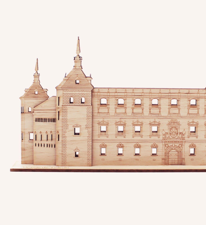 Alcázar Toledo detalle