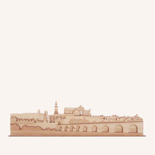 Córdoba de madera