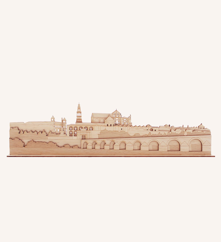 Córdoba perfil de madera