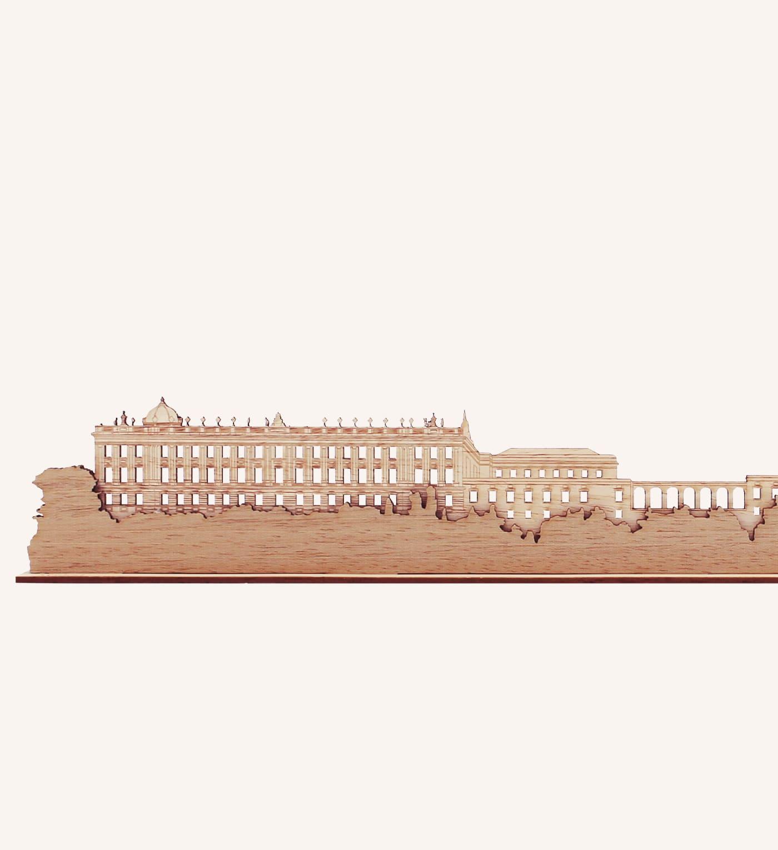 Palacio Real de Madrid de madera