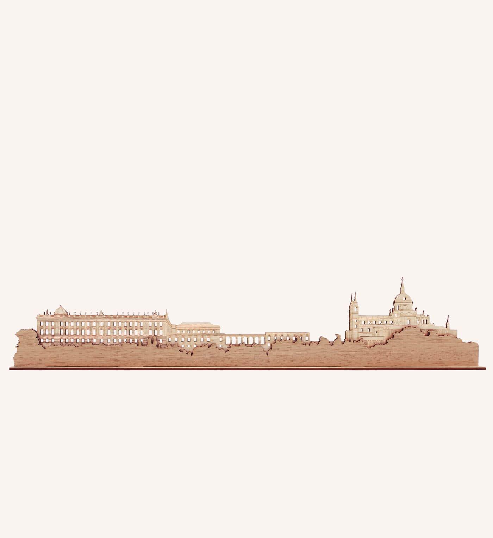 Catedral de la Almudena de Madrid de madera