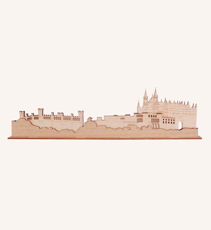 Vista de la Catedral Palma de Mallorca