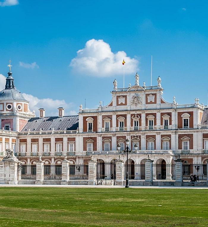Palacio Real de Aranjuez vista