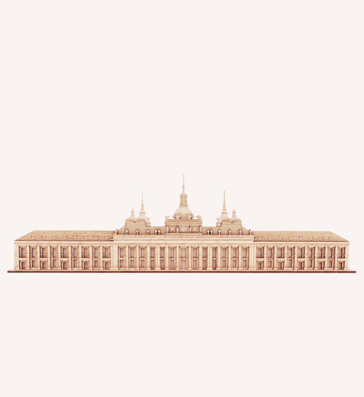 Palacio de La Granja de San Ildefonso de madera