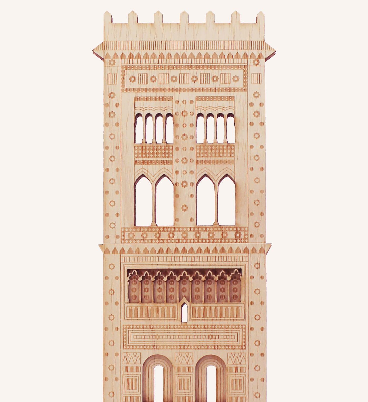 Torre mudéjar San Martín Teruel detalle 1