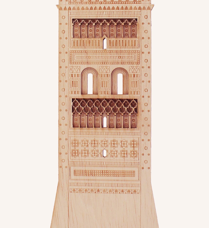 Torre mudéjar San Martín Teruel detalle 2