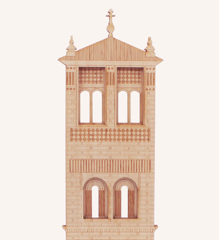 San Pedro torre mudéjar detalle 1