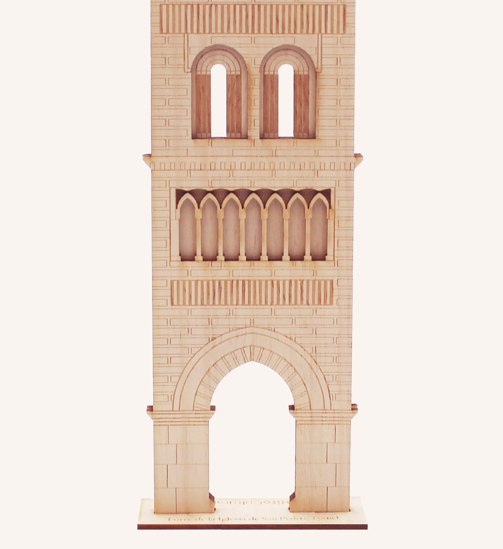 San Pedro torre mudéjar detalle 2