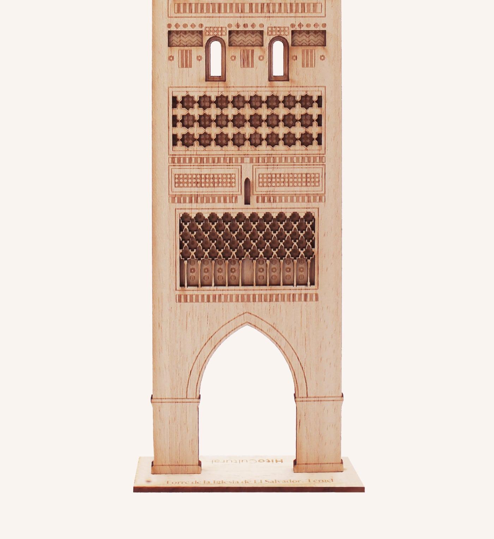 Torre mudéjar iglesia El Salvador, Teruel, detalle 2