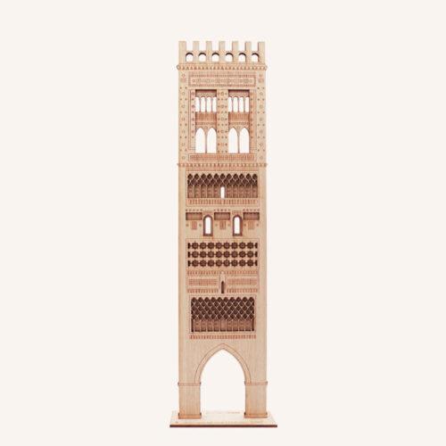 Torre mudéjar El Salvador Teruel