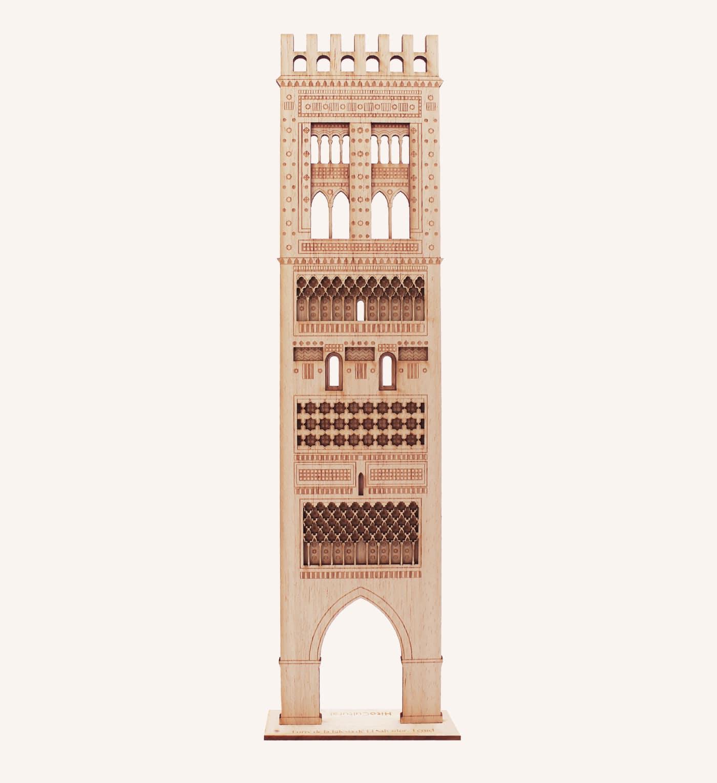 Torre iglesia El Salvador, Teruel