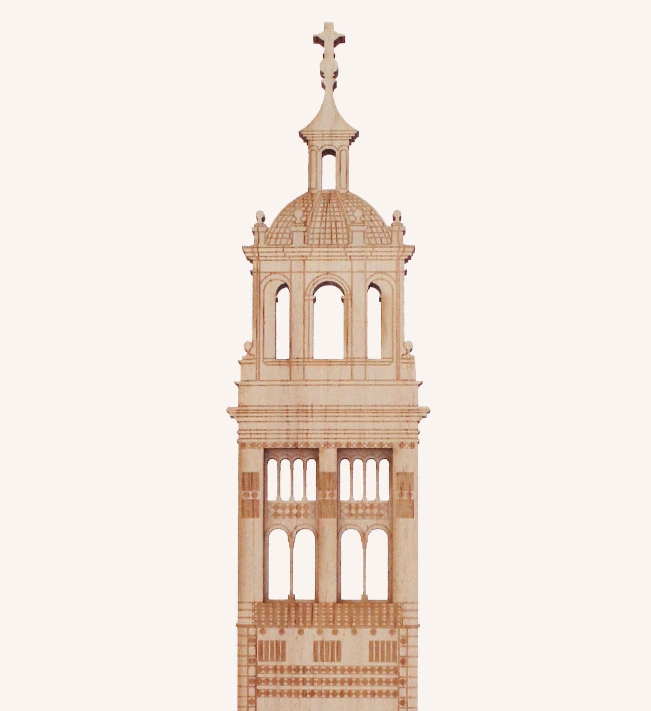 Catedral Santa María de Mediavilla, Teruel detalle 1